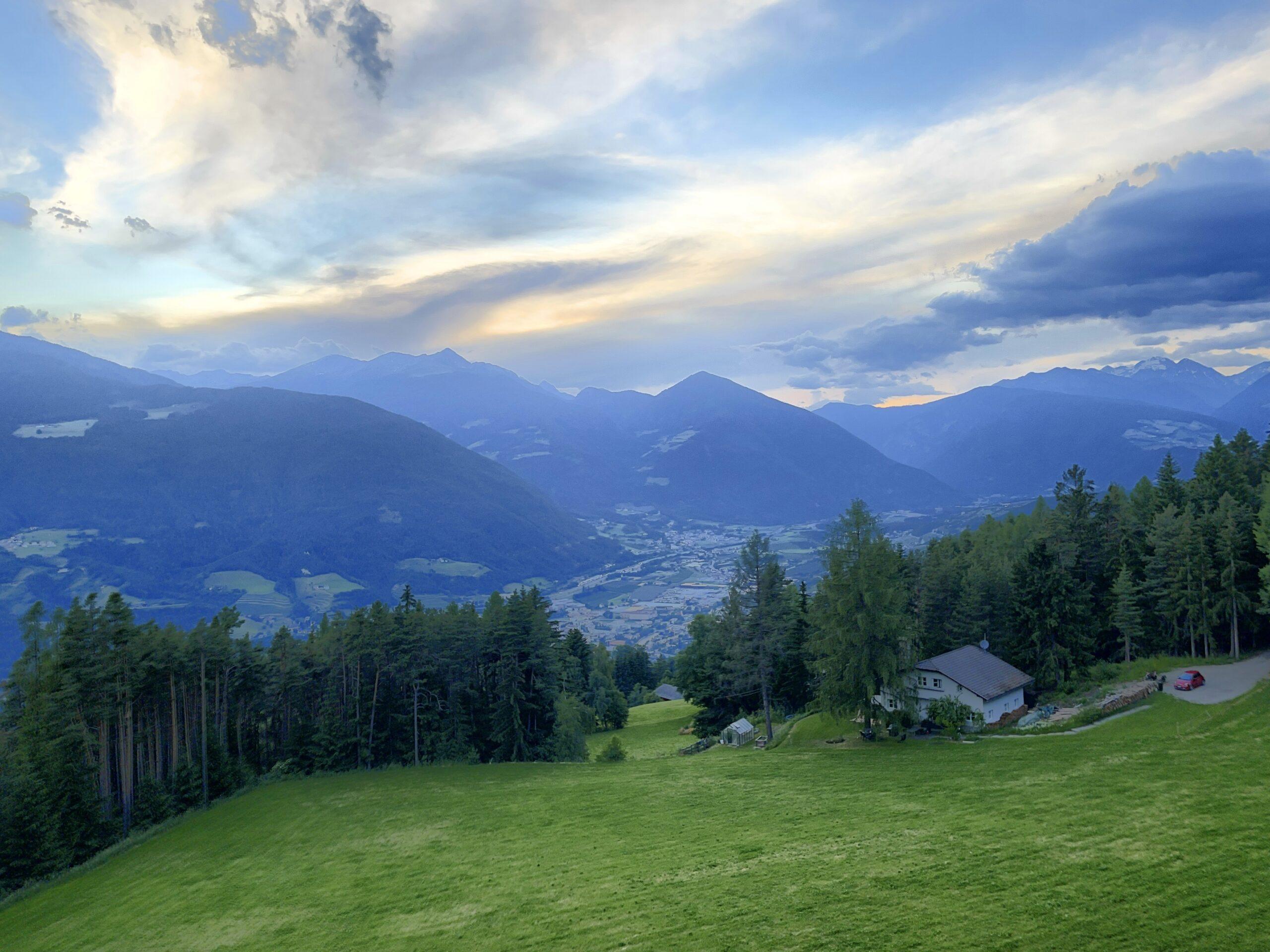 Tag 01: Anreise nach Brixen