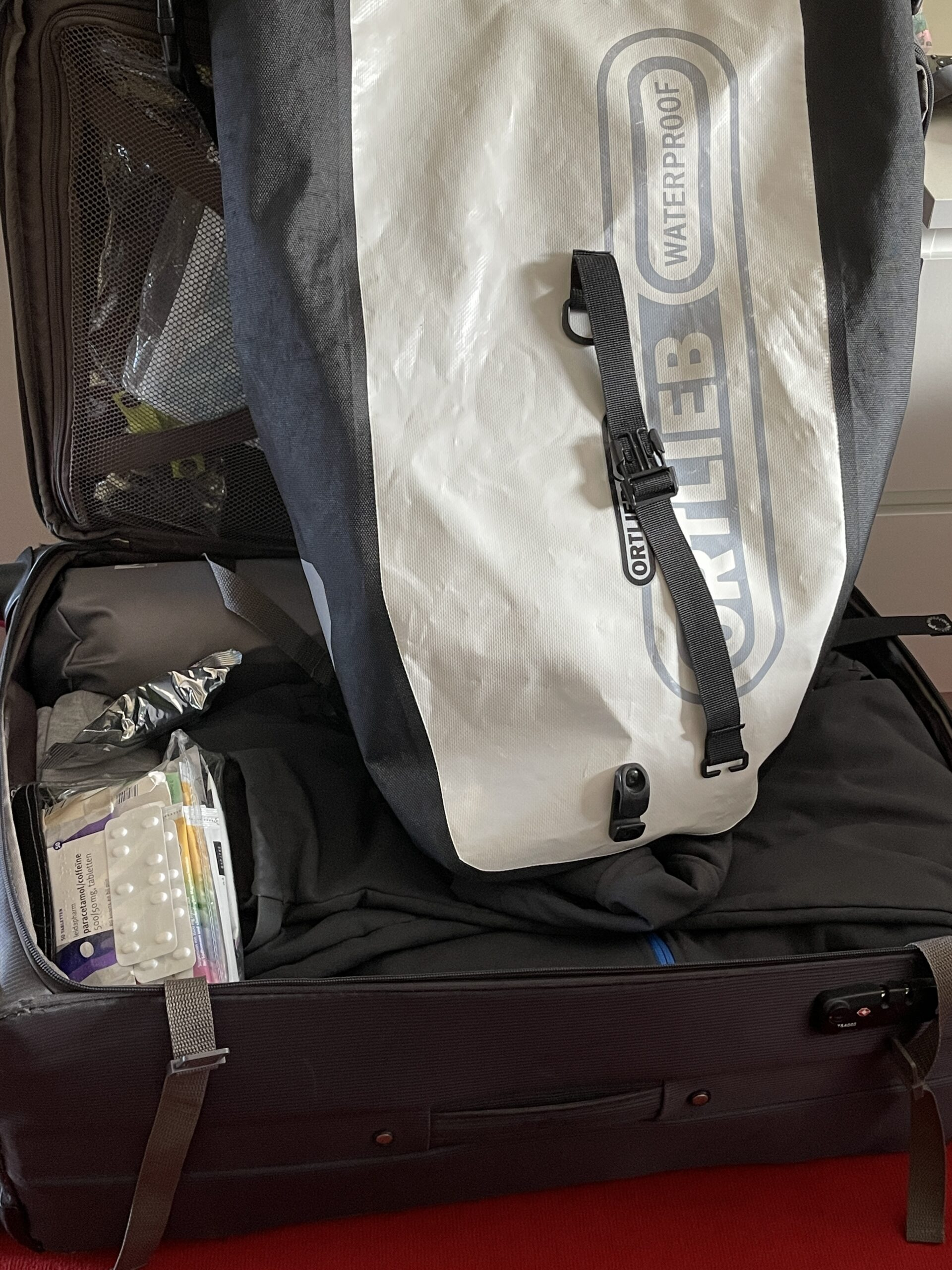 Tag 00: Koffer packen